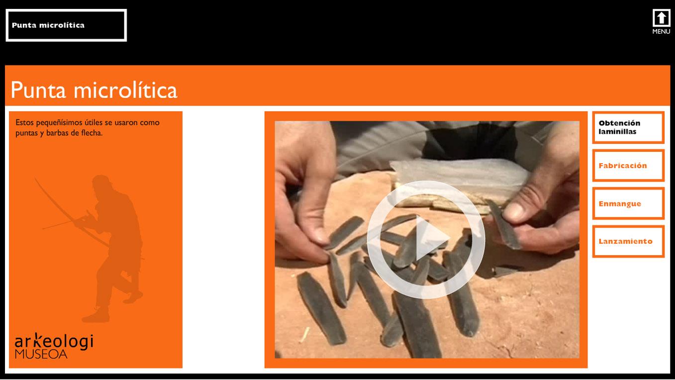 Interactivos para el Museo Arqueológico de Bilbao
