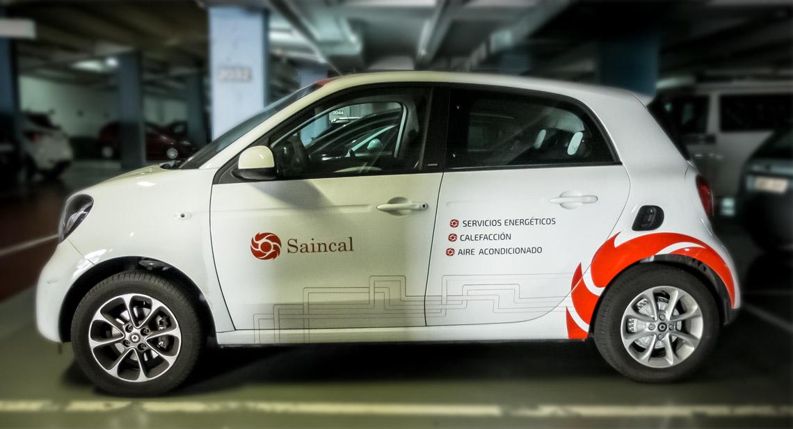 Serigrafía para coche Smart
